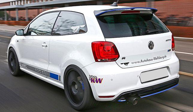 VW Polo 6R 6C Cross WRC Spoiler Spojler Daszek