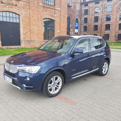 BMW X3 F25 2016r cena brutto