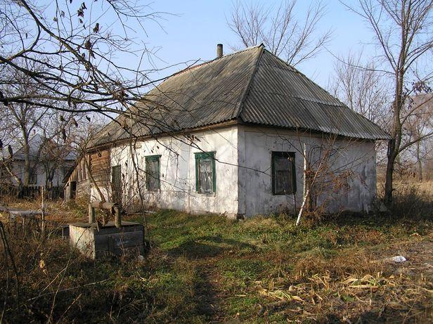 С. Евминка, участок со старым домом, 60 км от Киева
