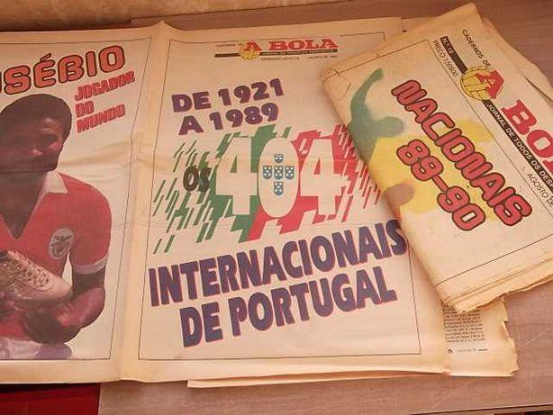 CADERNOS A BOLA nº 18 Época 88/89 c/SUPLEMENTO SELEÇÃO PORTUGAL