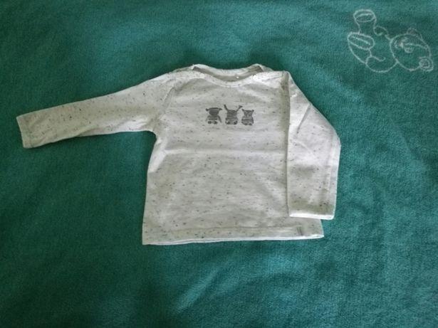 Ubranka bluzeczka rozm68 dla chlopca