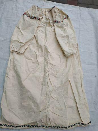 Сорочка вышиванка колинкоровая новая,женская,примерно 1950 год