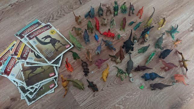 Dinozaury kolekcja + figurki