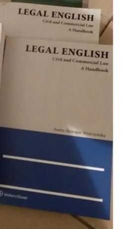 Leal English Civil nad Commerial law A handbook Aneta SkorupaWulczyń