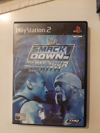 WWF Smackdown shut your mouth playstation 2