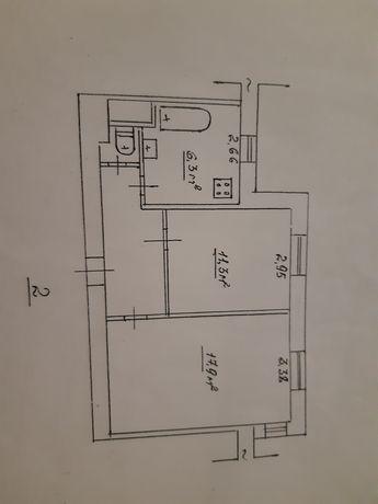 Продам 2-х квартиру в центре города Каменское