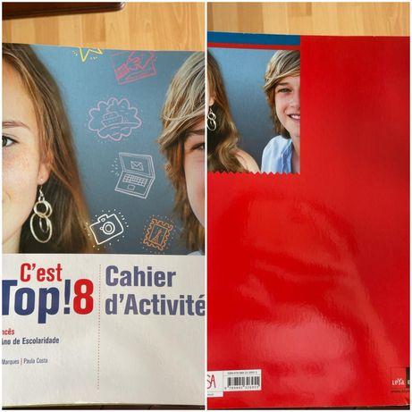 """Caderno Atividades Francês 8° ano """" C'est Top! 8 """""""
