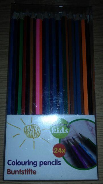 Набор цветных карандашей, новый