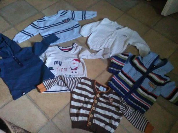 Bluzki sweterki dla niemowlaka r. 68-74