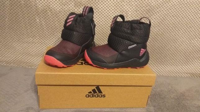 Zimowe buty dziecięce Adidas Rapidasnow rozmiar 23