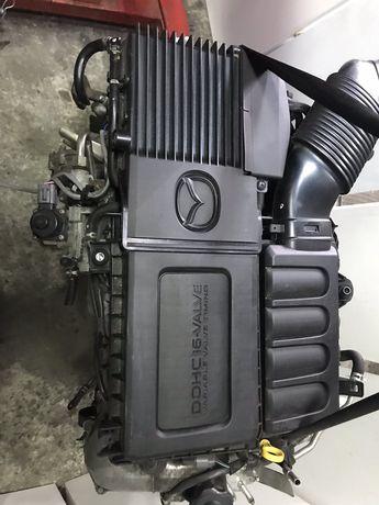 Mazda2 2 07-14рік 1.3 двигун zj комплектний