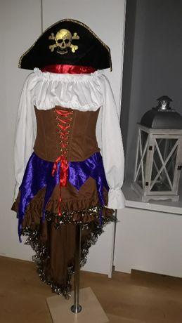 Strój karnawałowy damski PIRATKA strój PIRATKi kostium bal S (20DZ)