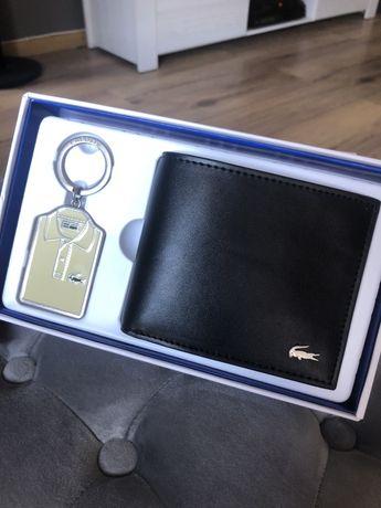 Nowy portfel Lacoste + brelok Lacoste