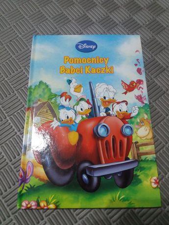 """Książka ,,Pomocnicy Babci Kaczki"""" Disney"""