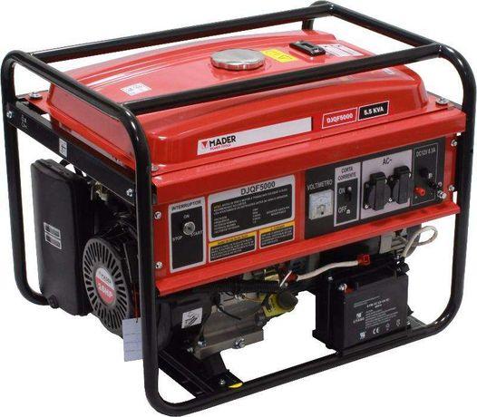 Gerador de energia / corrente eléctrica monofásico gasolina 5 Kva