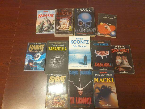 12 książek grozy