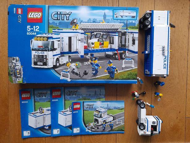 Klocki Lego CITY 60044 Mobilna jednostka policyjna. Policja