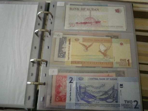 SUDAN, Novas NÃO CIRCULADAS conforme foto. em 2 Séries e 2 notas Extra