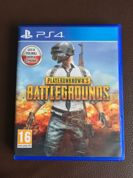 Playerunknown's Battlegrounds PUBG PL PS4 Nówka !!