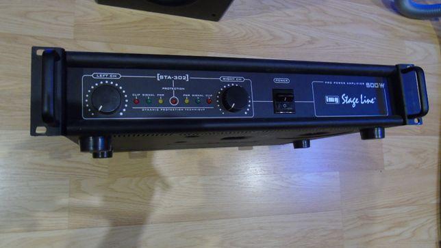 końcówka mocy Stage Line STA 302 sprawna