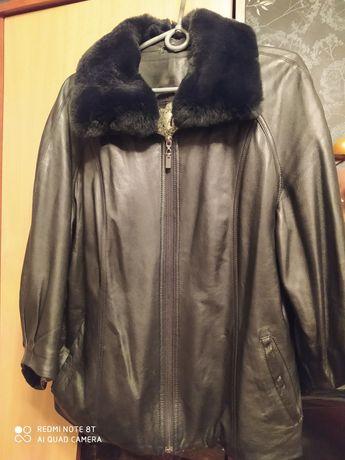 Куртка  кожа 3/4 рукав, 48-50