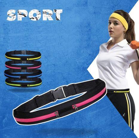Сумка – пояс Run, чехол для бега, спорта, велосипеда, фитнеса, на пояс