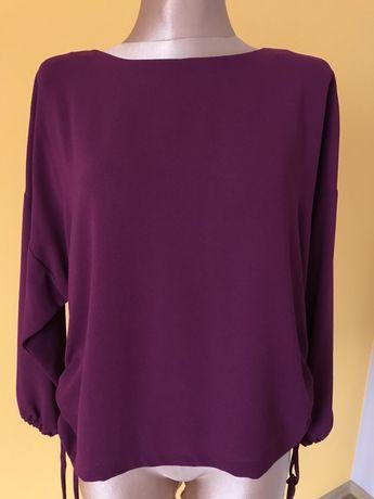 Śliwkowa bluzka Zara, rozm. S