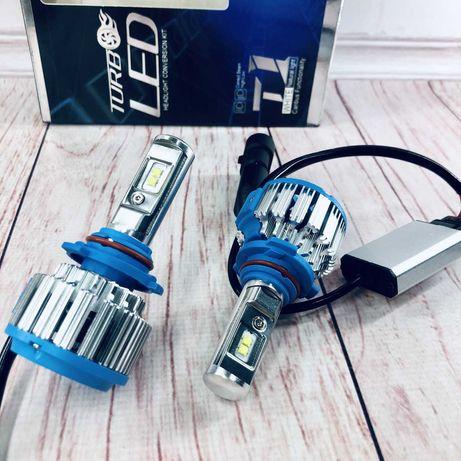 Светодиодные LED лампы T1/ H1,H11,H4,H3,H7/ Чип ZES/ Достойны внимания