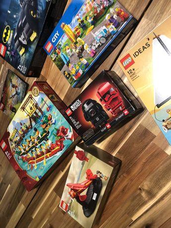 LEGO Sets selados - Exclusivos, City, Brickheadz, DC, Star Wars