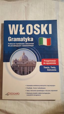 Włoski Gramatyka - repetytorium, Wydawnictwo Edgar