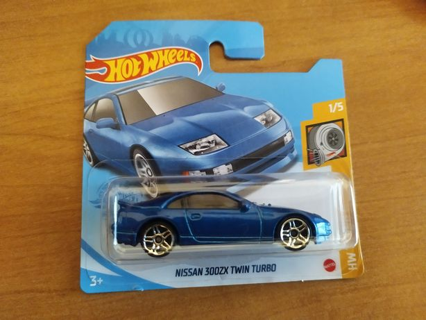 Nissan 300ZX Twin Turbo 1:64 Hot Wheels 2021 modelik resorak JDM