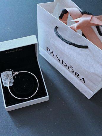 Браслет Pandora. Серебро. Ювелирные изделия. Подарок для девушки.