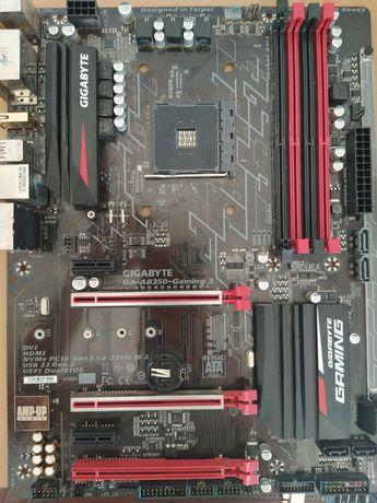 Motherboard Ab350 gaming 3 avariada