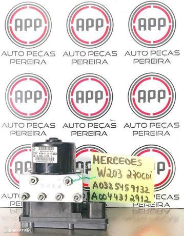 Módulo de abs Mercedes W203 referência A0325459132 A0044312912.