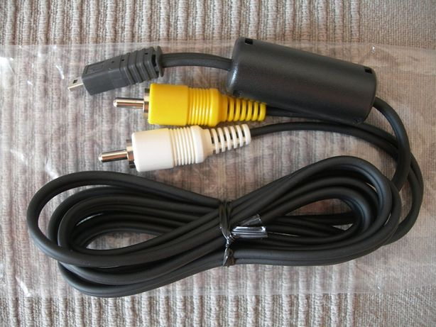 Novo: Micro cabo USB macho para 2 RCA