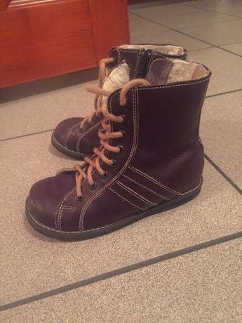 Buty profilowane dla dziecka 29r kozaki na zime ocieplane