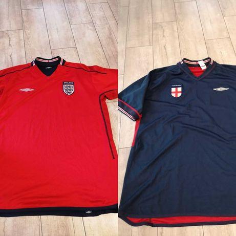 Koszulka Anglia England Umbro XL dwustronna