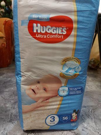 Подгузники Huggies ultra comfort 3 (5-9кг) 56шт