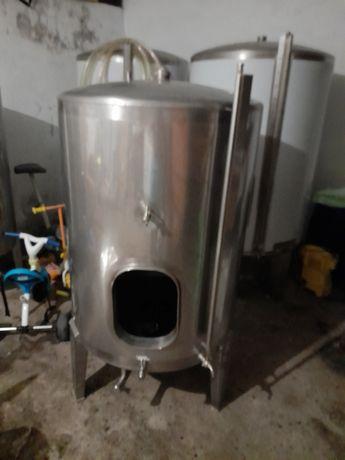 Cuba inox 550 litros