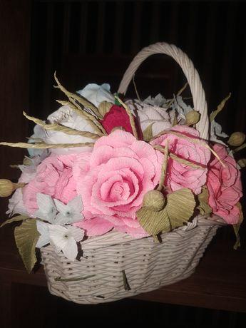 Цветы, букеты под заказ