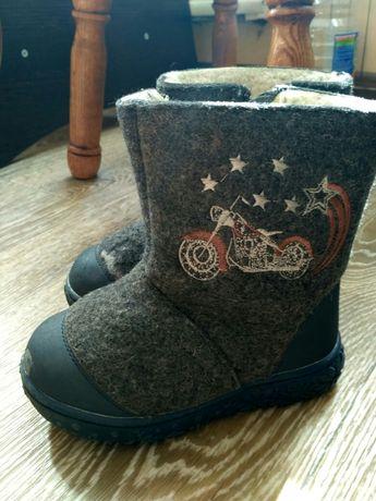 Зимние ботинки, валенки