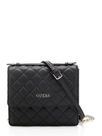 Torebka Guess Alanis Quilted CROSSBODY BAG