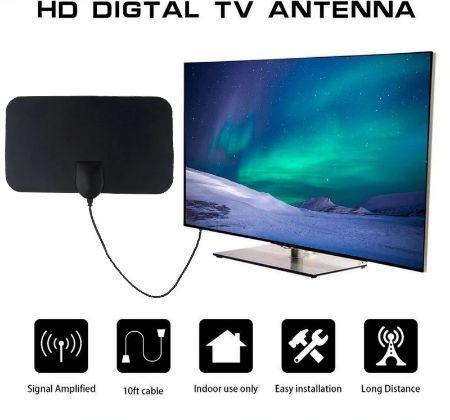 Antena cyfrowa HDTV/również 4K - wewnętrzna. Super cena i jakość! Nowa