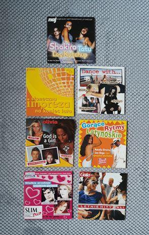 Płyta CD dance / zestaw 7 sztuk