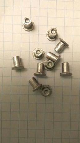 Заклепки алюминиевые 4х6 мм потай производства СССР