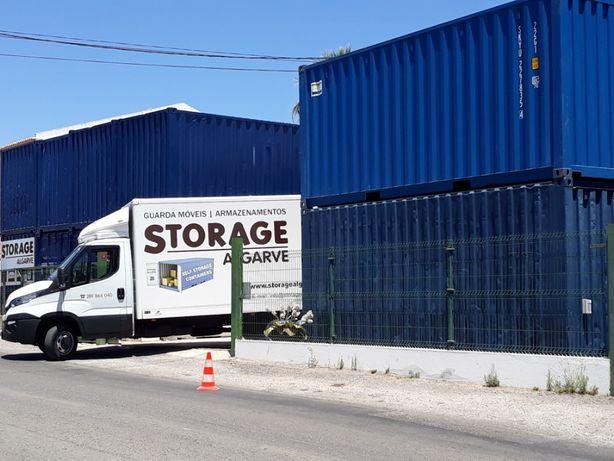 Armazenamento em Contentor Individual Guarda Móveis ,Self Storage FARO