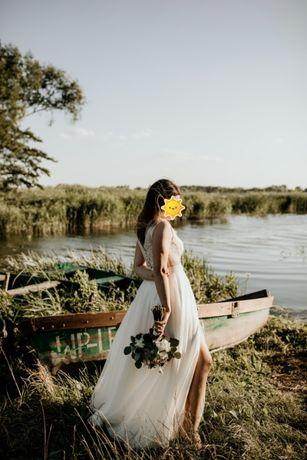 Suknia ślubna w stylu boho Soho II