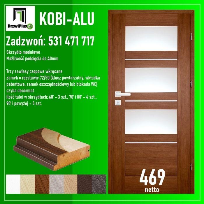 Drzwi ramowe wewnętrzne w dobrej cenie. Koronowo - image 1