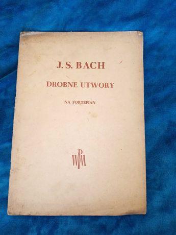 J. S. Bach Drobne utwory na fortepian 1956 r.