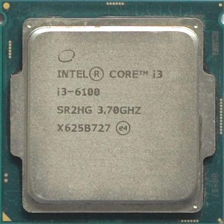 Процессор I3 6100 3.7GHz 3MB Intel Core 1151 SR2HG | Гарантия 1 Год